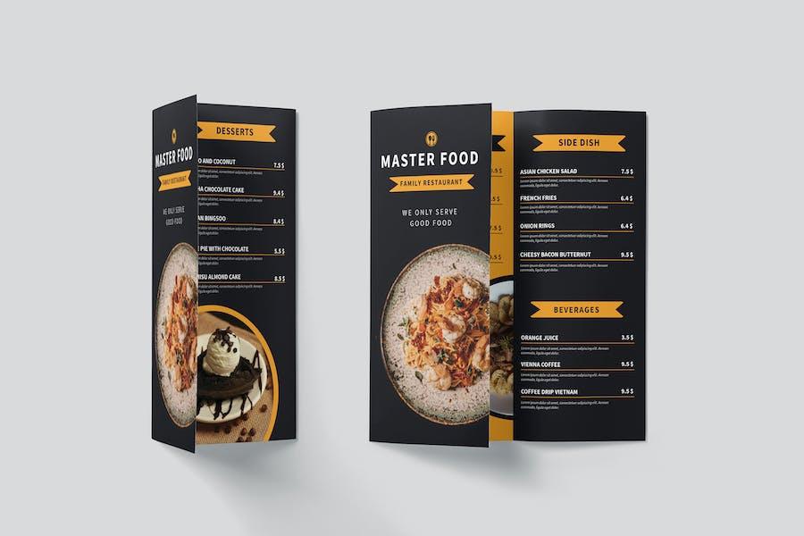 Master Food Restaurant Menu