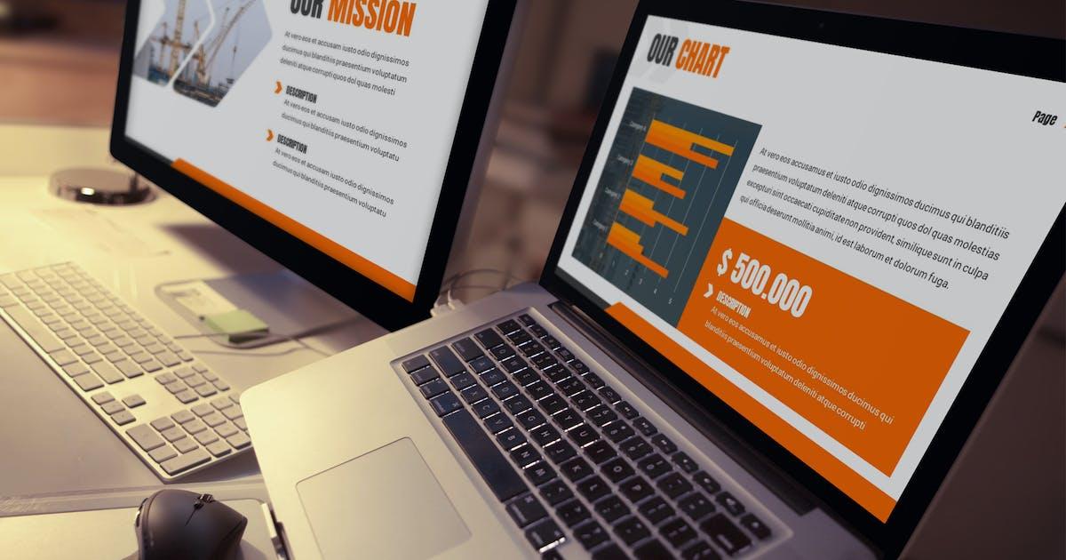 Download Ankara - Construction Keynote Template by SlideFactory