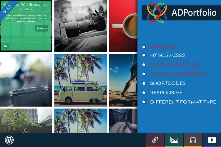 Thumbnail for AD Portfolio Filter and Carousel Wordpress Plugin