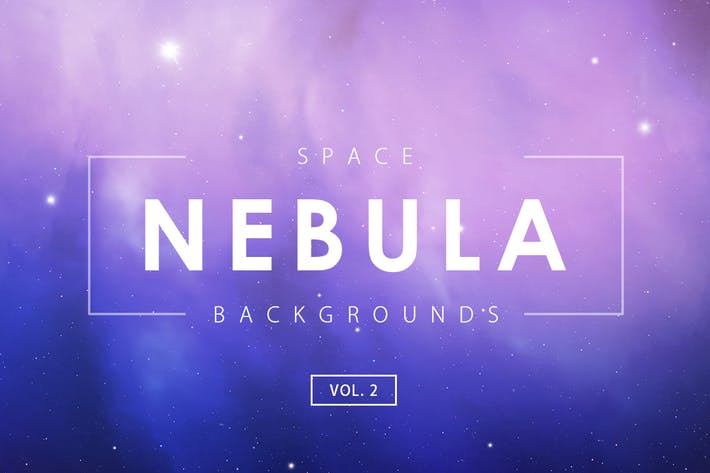 Thumbnail for Space Nebula Backgrounds Vol. 2