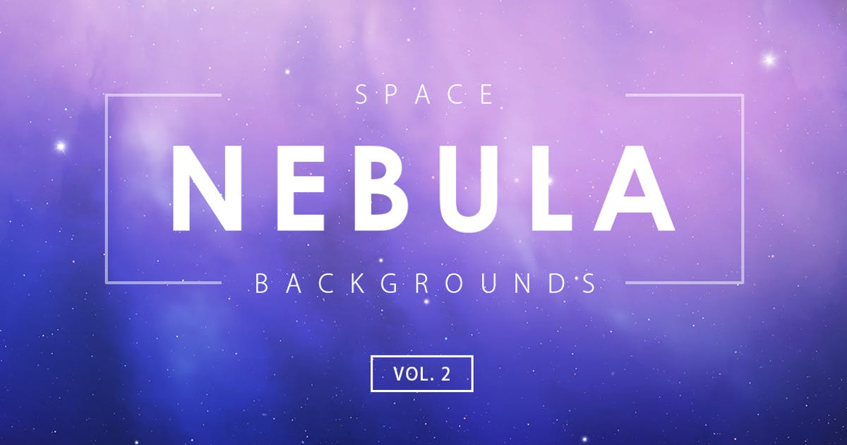 Download Space Nebula Backgrounds Vol. 2 by M-e-f