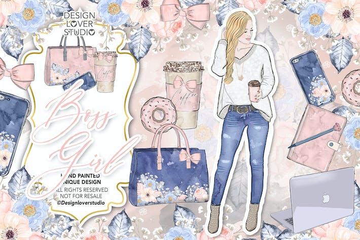 Thumbnail for Diseño de Boss Girl.