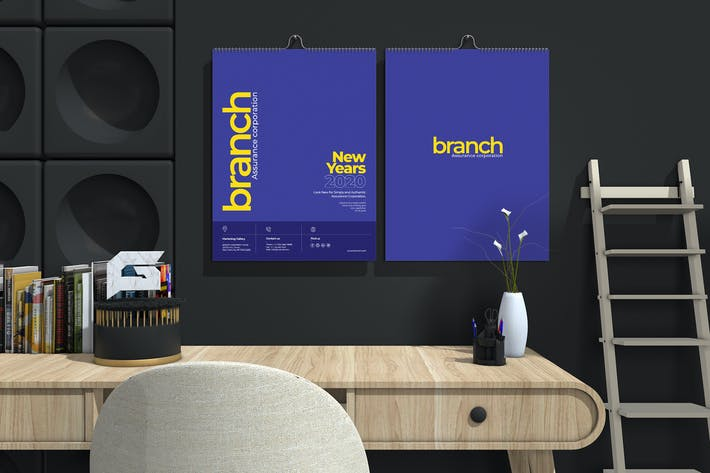 Cover Image For Branch Assurance Wall Calendar 2020