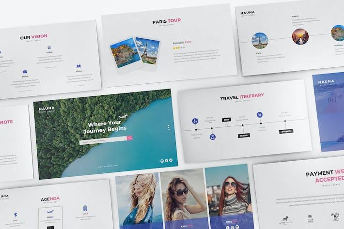 Thumbnail for Nauna - Travel Agency Keynote Template