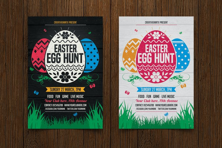 Thumbnail for Easter Egg Hunt Flyer