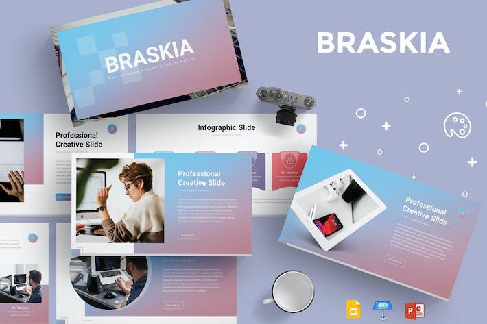 Thumbnail for Braskia - Presentation Template