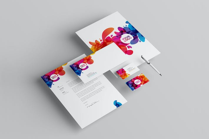 Thumbnail for Colorful Abstract Stationery