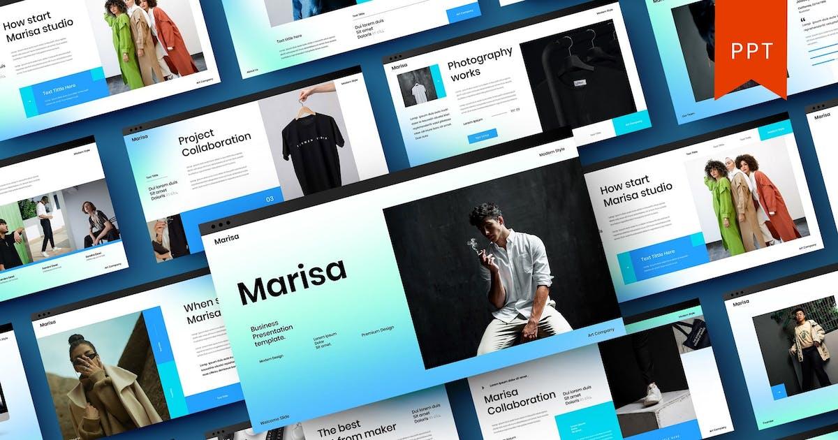 Download Marisa – Business PowerPoint Template by DensCreativeStudio