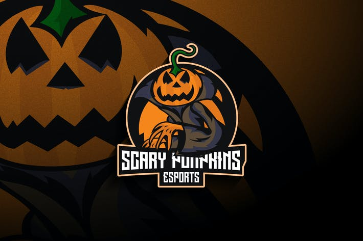 Scary Pumpkins Esports - Mascot & Esport Logo