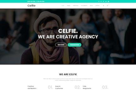 Celfie - Bootstrap MultiPurpose HTML5 Template