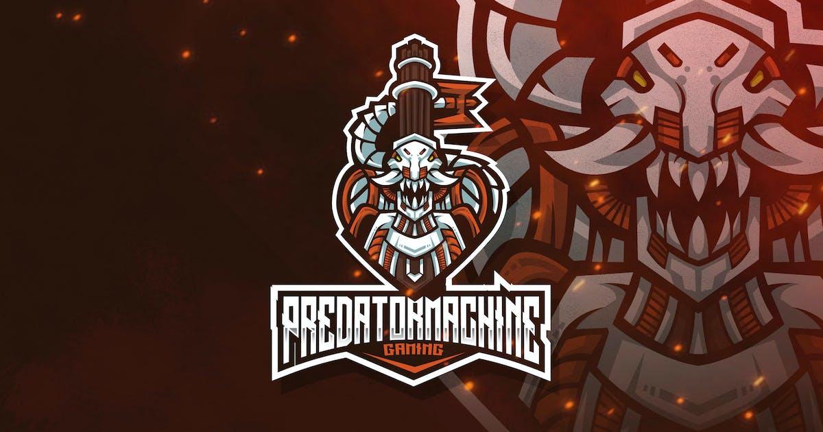 Download Predator Machine Esport Logo Template by StringLabs