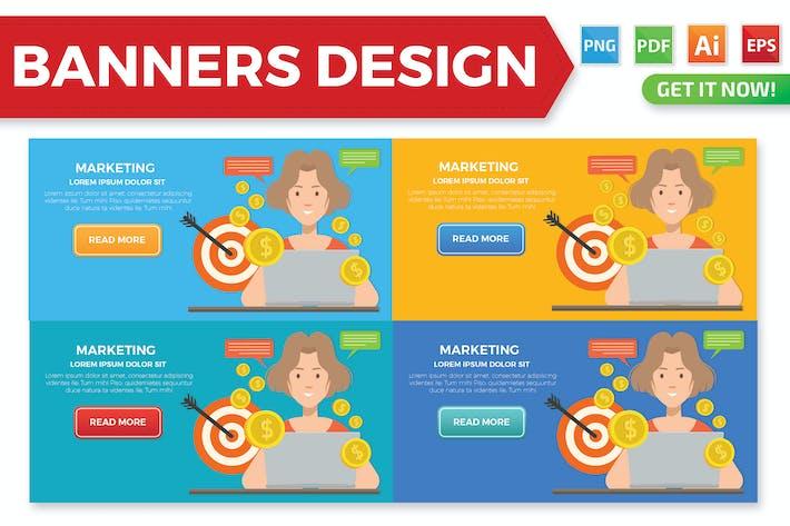 Thumbnail for Marketing Banner Design