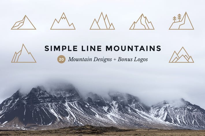 Thumbnail for Simple Line Mountains