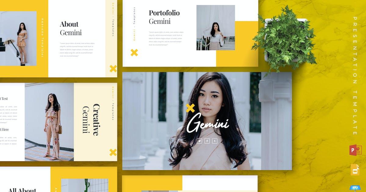 Download GEMINI Fashion Powerpoint/Google Slide/Keynote by RahardiCreative