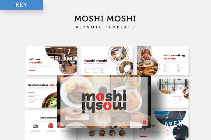 Thumbnail for Moshi Moshi - Keynote Vorlage