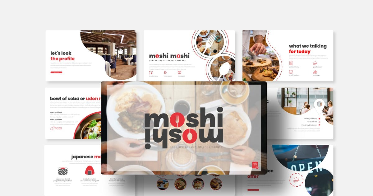 Download Moshi Moshi - Keynote Template by queentype