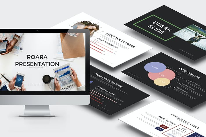 Thumbnail for Roara : Multipurpose Powerpoint Template