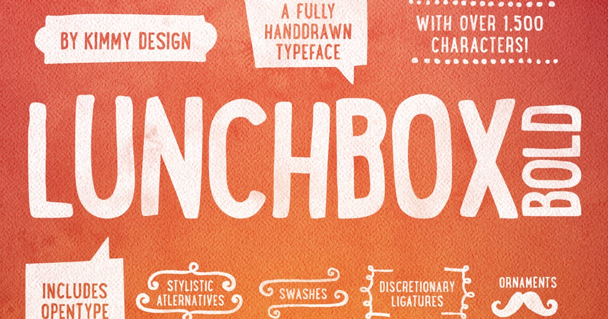 Lunchbox Bold by kimmydesign