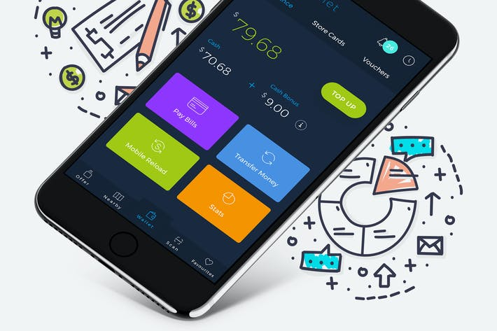 Thumbnail for B Wallet Dashboard 8 Mobile Ui