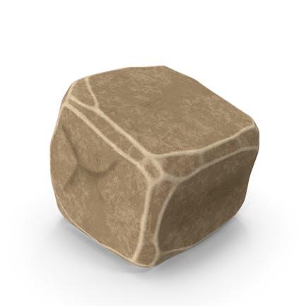 Stilisierter Stein