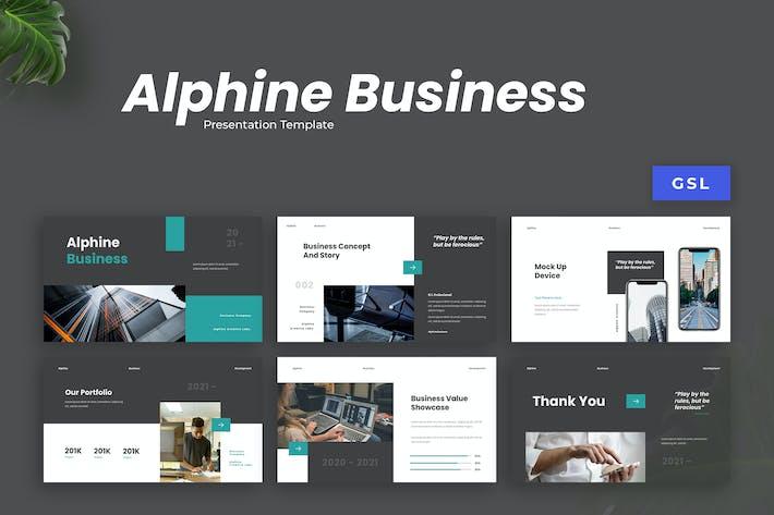 Alphine - Business Development Template