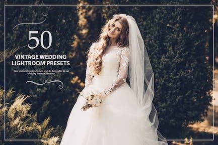 50 старинных свадебных Пресеты Lightroom