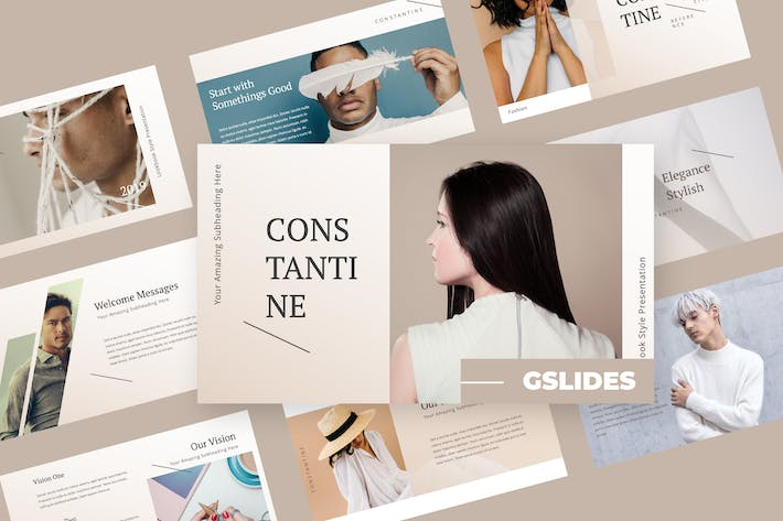 Thumbnail for Constatine - Fashion Google Slides Presentation