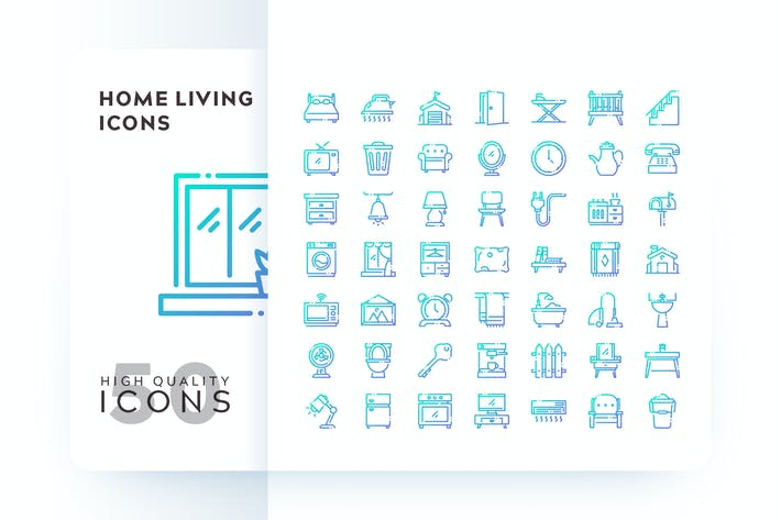 Thumbnail for HOME LIVING OUTLINE GRADIENT