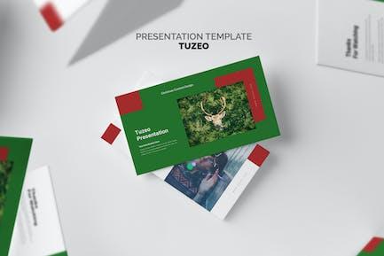 Tuzeo : Christmas Event Promo Google Slides