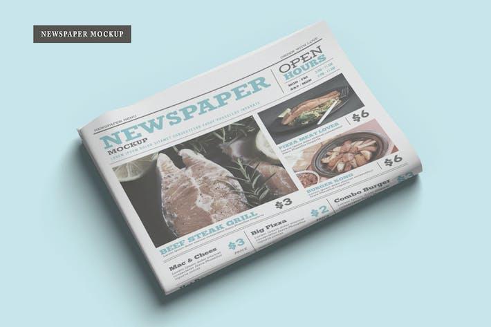 Zeitung Mockup