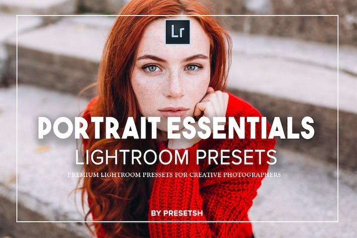Thumbnail for Essential Portraits lightroom presets