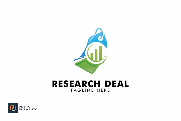 Thumbnail for Research Deal - Logo Template