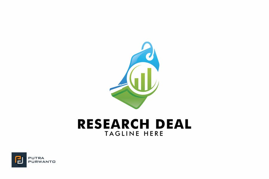 Research Deal - Logo Template