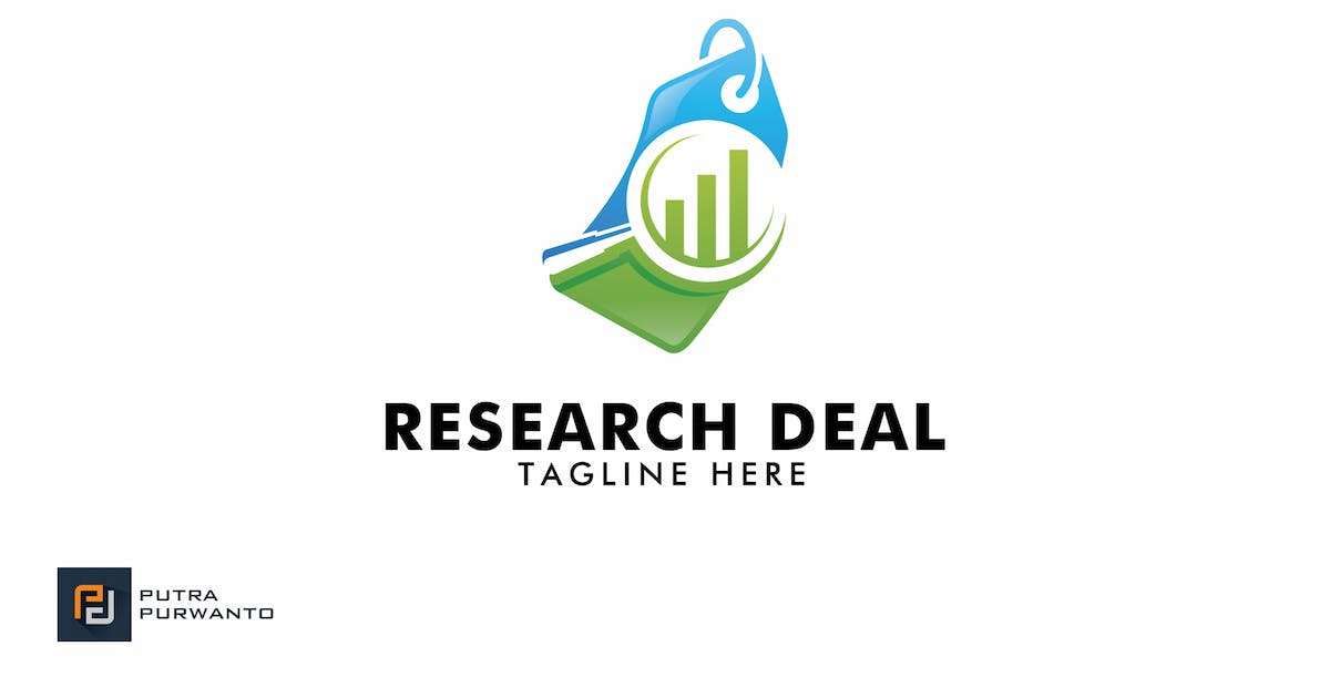 Download Research Deal - Logo Template by putra_purwanto
