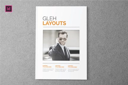 GLEH LAYOUT - Indesign Magazine Template
