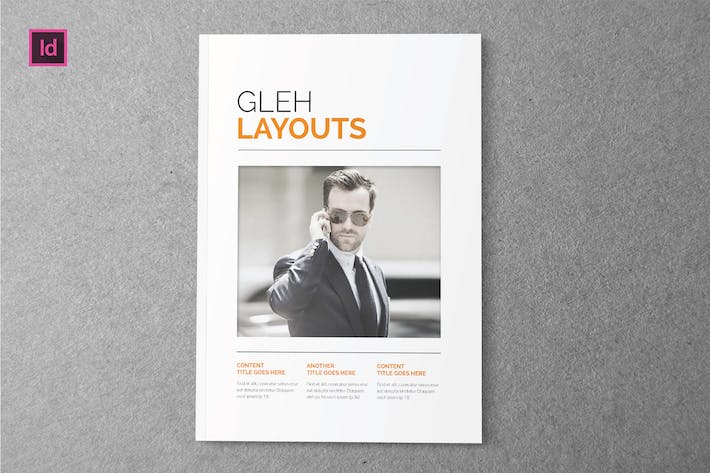 Thumbnail for GLEH LAYOUT - Indesign Magazine Template