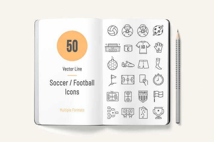 Thumbnail for Soccer / Football Icons