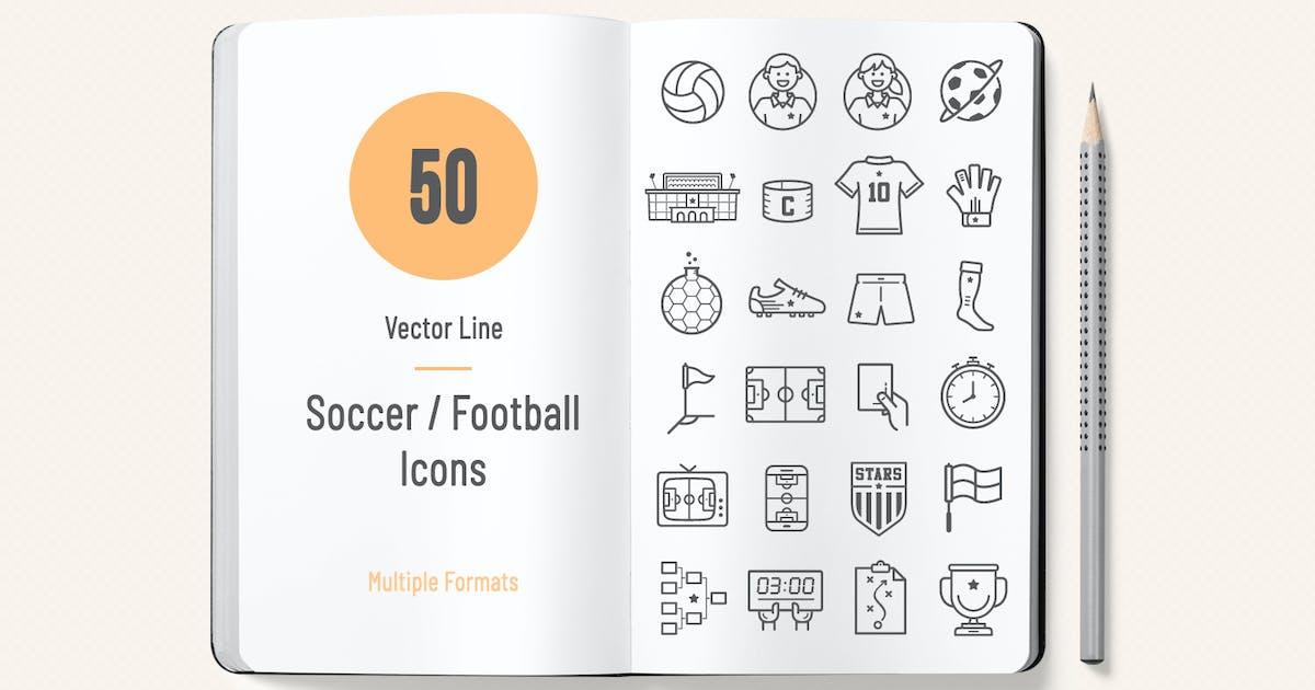 Soccer / Football Icons by Sargatal