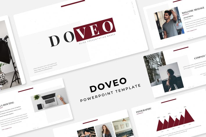 Thumbnail for Doveo - PowerPoint Template
