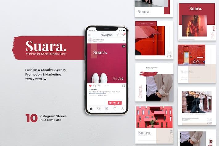 Thumbnail for SUARA Fashion Instagram & Facebook Post