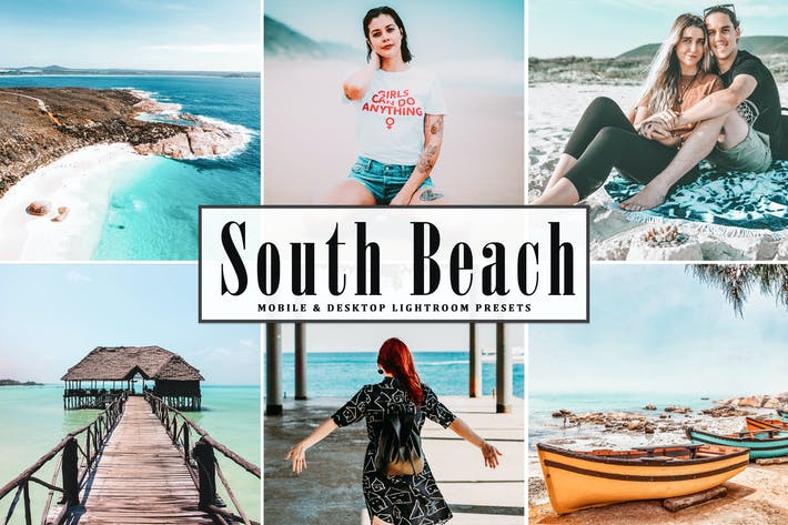Thumbnail for South Beach Mobile & Desktop Lightroom Presets