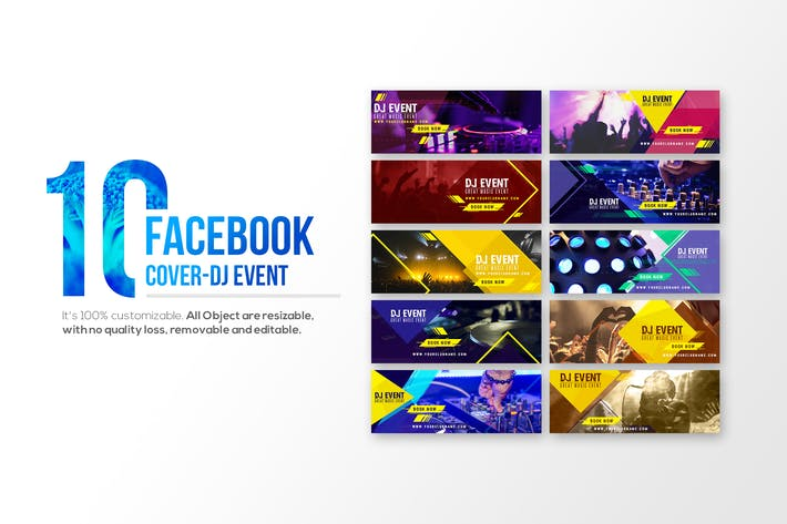 Thumbnail for 10 Facebook Cover-DJ Event