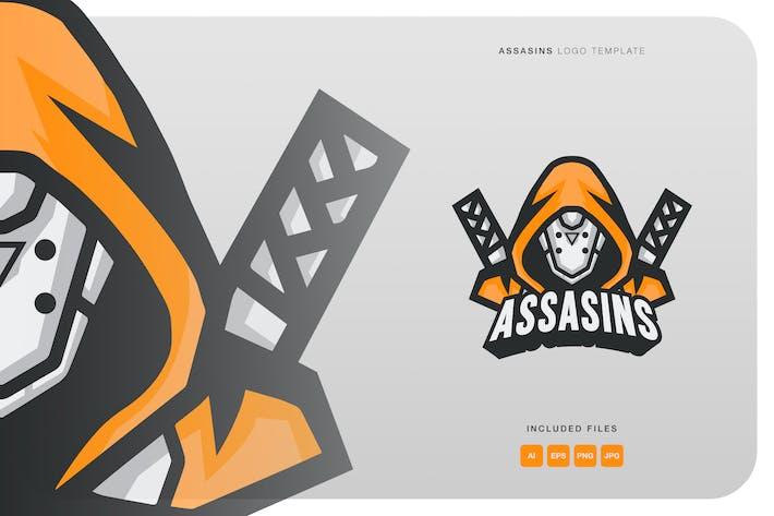 Thumbnail for Assasins Logo Template