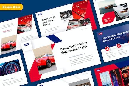 MOBIL - Automotive Google Slides Template