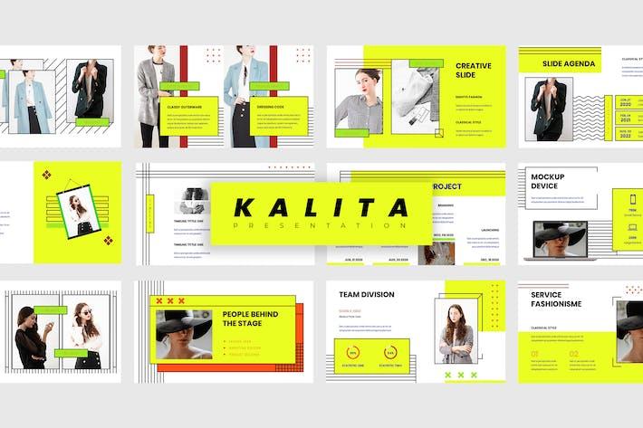 Thumbnail for Kalita - Fashion Keynote Presentation