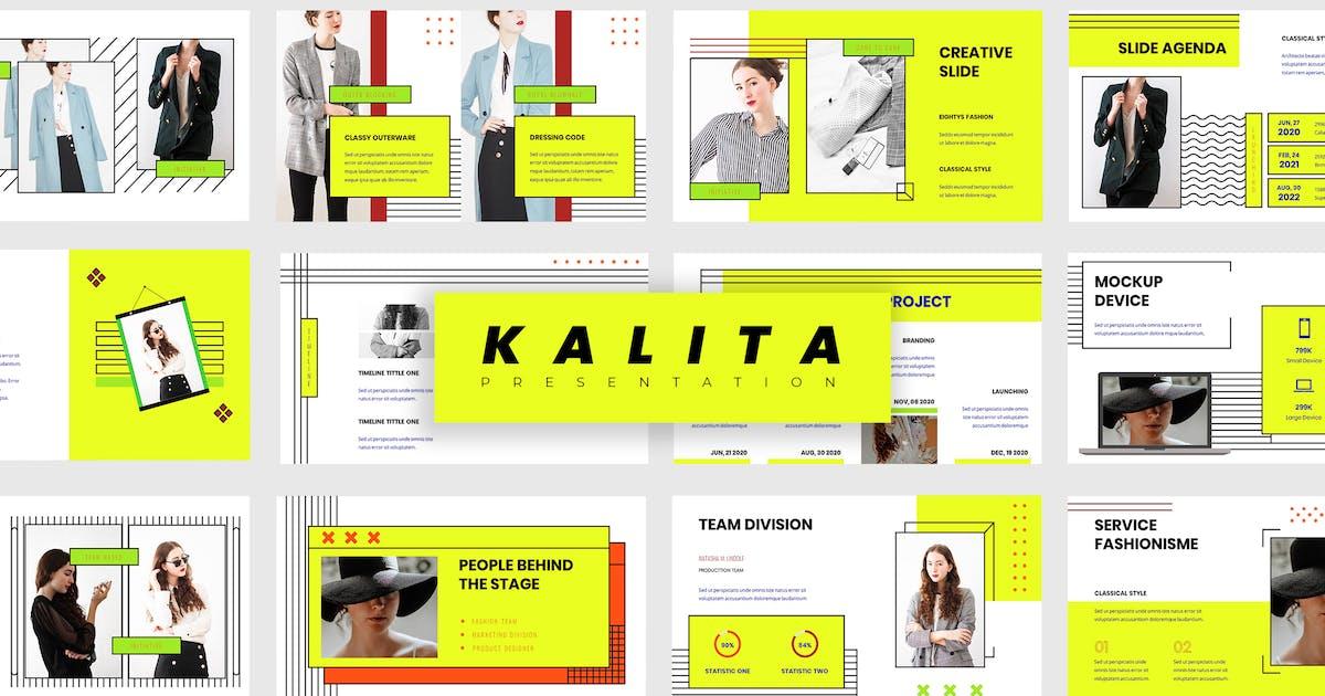 Download Kalita - Fashion Keynote Presentation by vectorclans