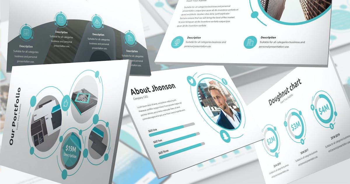 Download Omega - Networking Keynote Template by SlideFactory