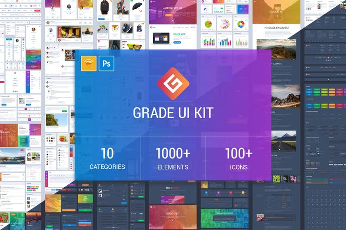 Thumbnail for Grade UI Kit