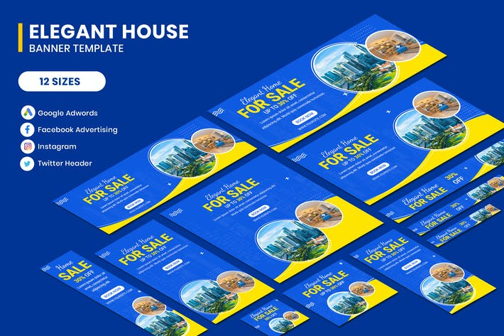 Thumbnail for Elegant House Banner Template
