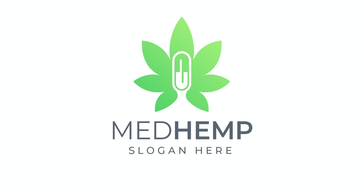 Download Med Hemp - Health and Medical Logo by Suhandi